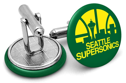 Seattle Supersonics Cufflinks