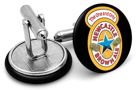 Newcastle Brown Ale Cufflinks