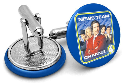 News Team Channel 4 Cufflinks