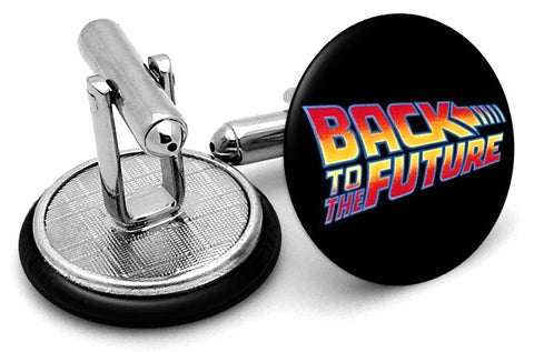 Back to Future Logo Cufflinks