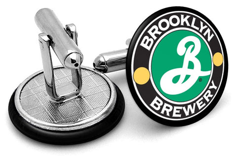 Brooklyn Lager Cufflinks