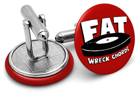 Fat Wreck Chords Cufflinks