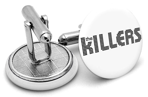 The Killers White Cufflinks