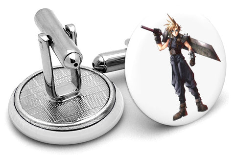 Final Fantasy Cloud Strife Cufflinks