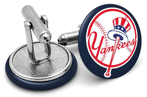 New York Yankees Logo Cufflinks