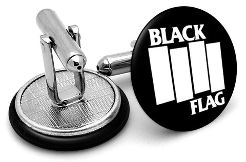 Black Flag Logo Cufflinks
