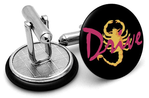 Drive Scorpion Logo Cufflinks