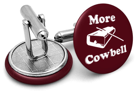 More Cowbell SNL Cufflinks