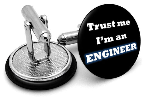 Trust Me Engineer Cufflinks
