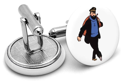 Captain Haddock Tintin Cufflinks