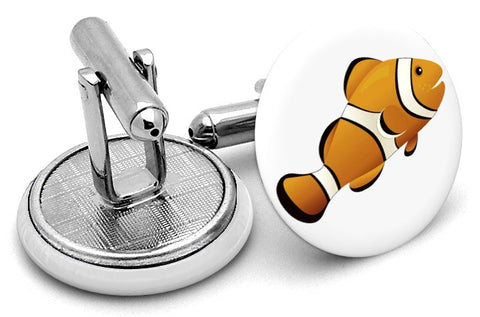 Clown Fish Aquarium Cufflinks