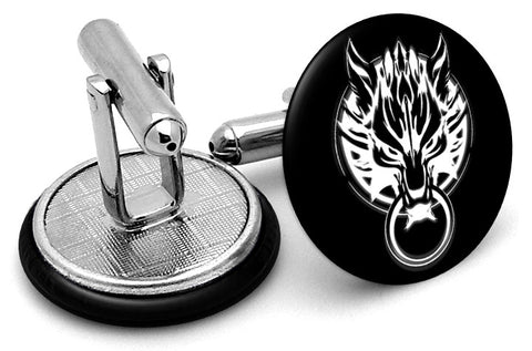 Cloud Strife Wolf Final Fantasy Cufflinks