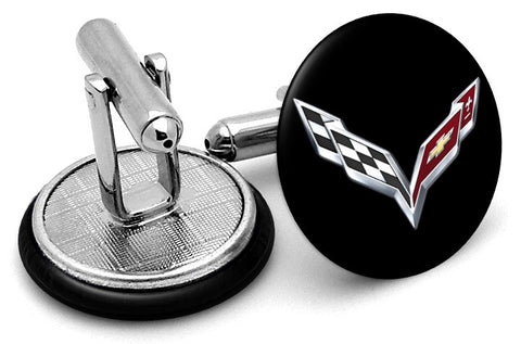 Corvette New Logo Cufflinks