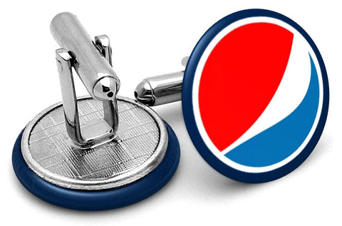 Pepsi Cola New Logo Cufflinks