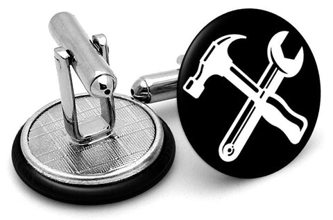 Hammer and Wrench Cufflinks