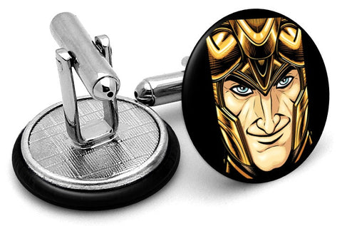 Loki Portrait Cufflinks