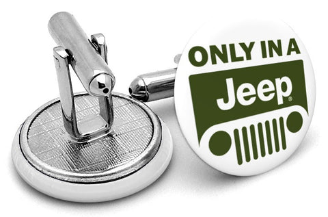 Only In Jeep Cufflinks