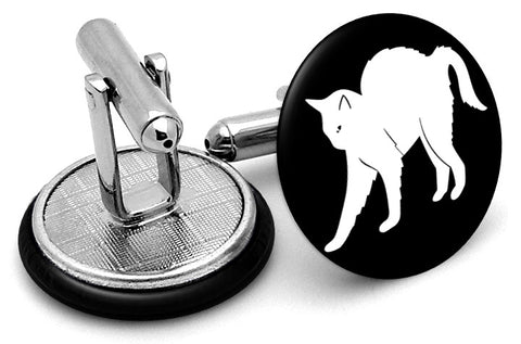 Cat Arched Cufflinks