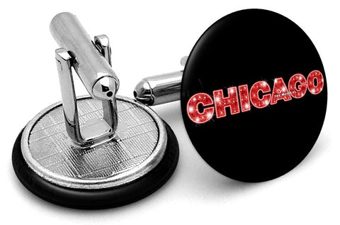 Chicago Musical Cufflinks