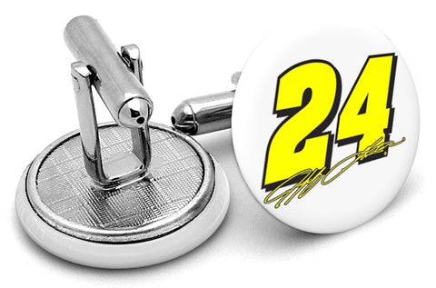 Jeff Gordon #24 Cufflinks