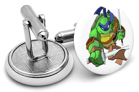 Ninja Turtles Leonardo Cufflinks