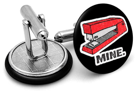 Mine Office Space Stapler Cufflinks