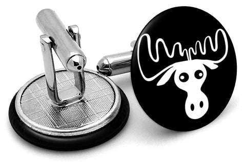 Moose Head Cufflinks