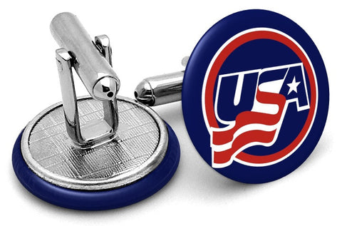 Team USA Hockey Cufflinks