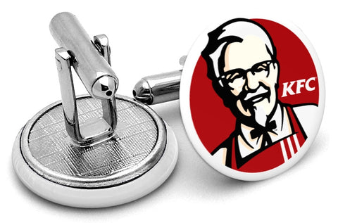 Kentucky Fried Chicken KFC Cufflinks
