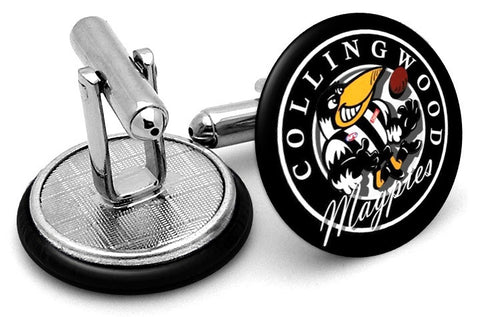 Collingwood Magpies 80s Cufflinks