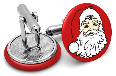 Father Christmas Santa Cufflinks