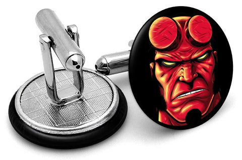 Hellboy Portrait Cufflinks