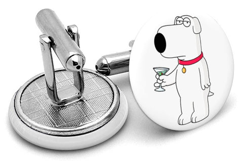 Brian Griffin Family Guy Cufflinks