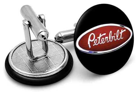 Peterbilt Trucks Cufflinks