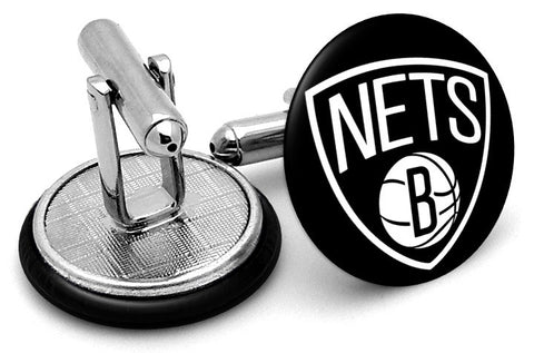 Brooklyn Nets New Logo Cufflinks