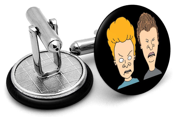 Beavis And Butt-Head Cufflinks By Frenchcuffed - Discount And Custom Personalized Cuff Links-2987