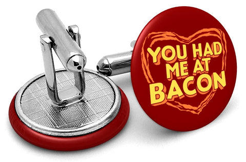 Had Me At Bacon Cufflinks