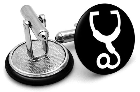 Medical Stethoscope  Cufflinks