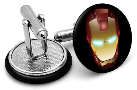 Iron Man Mask Cufflinks