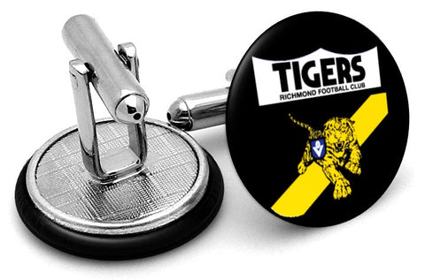 Richmond Tigers 80s Cufflinks