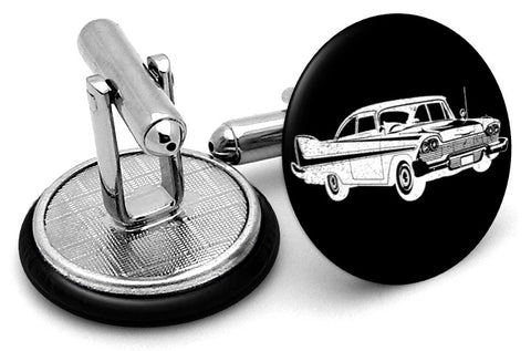 Plymouth Vintage Image Cufflinks