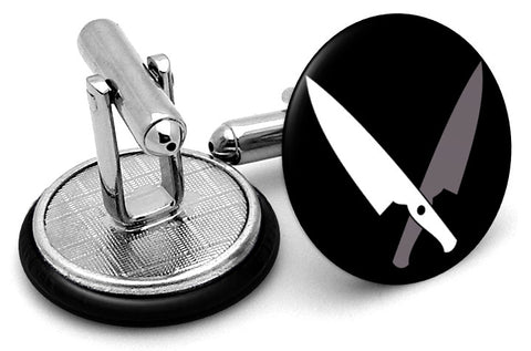 Chef Knives Cufflinks