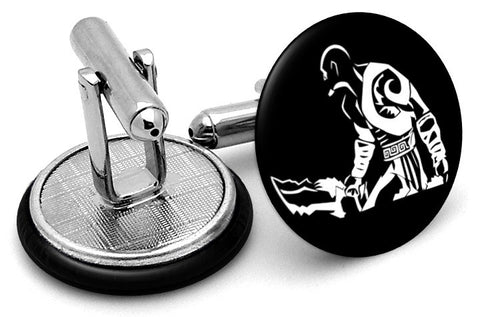 God Of War Kratos Cufflinks