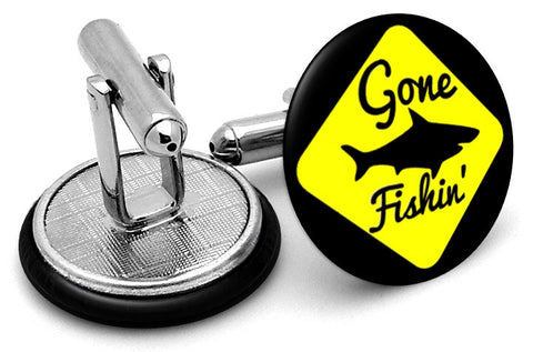 Gone Fishing Cufflinks