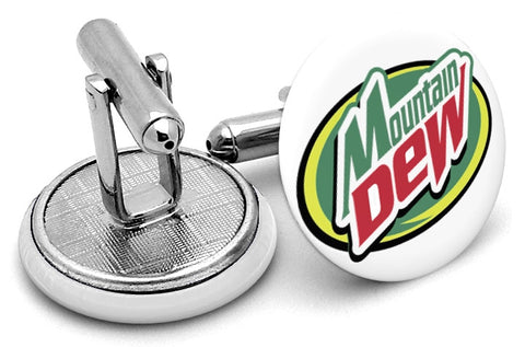 Mountain Dew Cufflinks