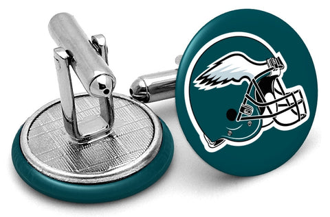 Philadelphia Eagles Helmet Cufflinks