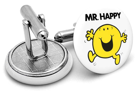 Mr Happy Cufflinks