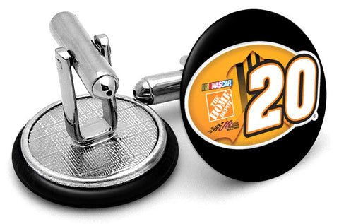 Joey Logano #20 Decal Cufflinks