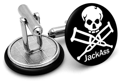 Jackass Skull Alternate Cufflinks