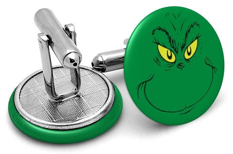 Grinch Stole Christmas Cufflinks